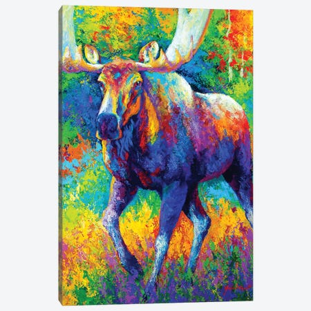 The Urge To Merge Canvas Print #MRS86} by Marion Rose Canvas Wall Art