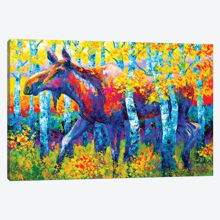 Autumn Queen Canvas Print #MRS8} by Marion Rose Canvas Artwork