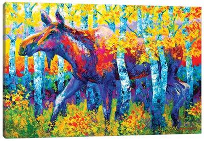 Autumn Queen Canvas Art Print