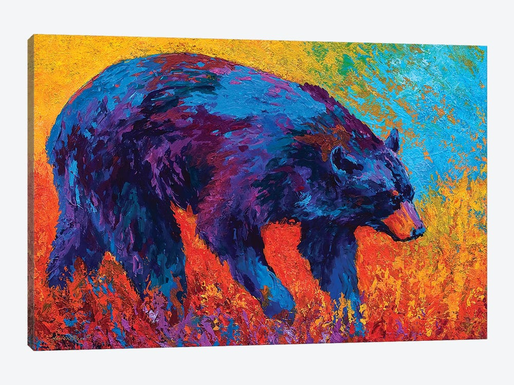Walkabout by Marion Rose 1-piece Canvas Art Print