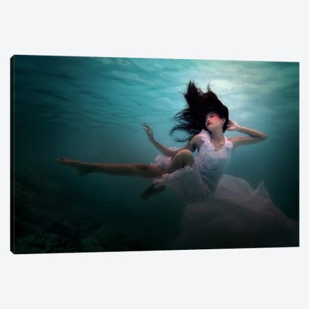 Beneath The Sea Canvas Print #MRT1} by Martha Suherman Canvas Print