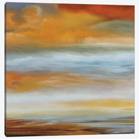 Earth And Sky I Canvas Print #MRU1} by Matt Russel Canvas Artwork