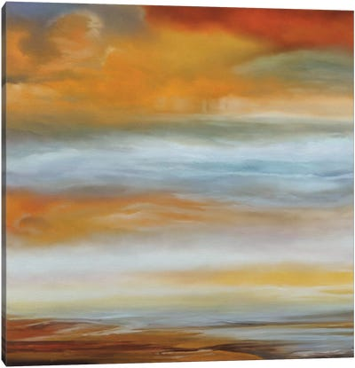 Earth And Sky I Canvas Art Print