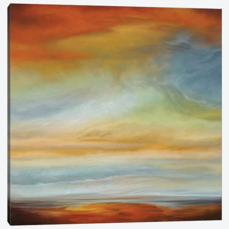 Earth And Sky II Canvas Print #MRU2} by Matt Russel Canvas Artwork