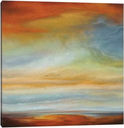 Earth And Sky II Canvas Art Print