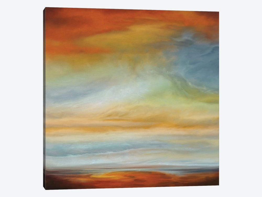 Earth And Sky II by Matt Russel 1-piece Canvas Art Print