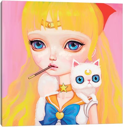 Sailor Venus Canvas Art Print