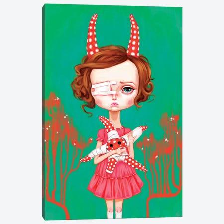 Starfish Child Canvas Print #MSC15} by Melanie Schultz Canvas Wall Art
