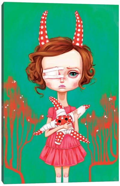 Starfish Child Canvas Art Print