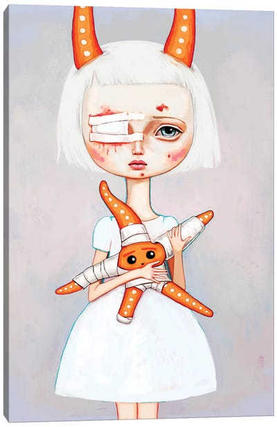 Starfish Nurse Canvas Art Print