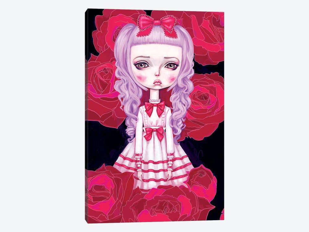 Sweet Lolita Rose by Melanie Schultz 1-piece Canvas Art Print