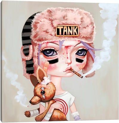 Tank Girl Canvas Art Print