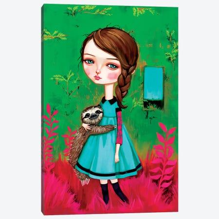 A Walk In The Garden Canvas Print #MSC1} by Melanie Schultz Canvas Wall Art