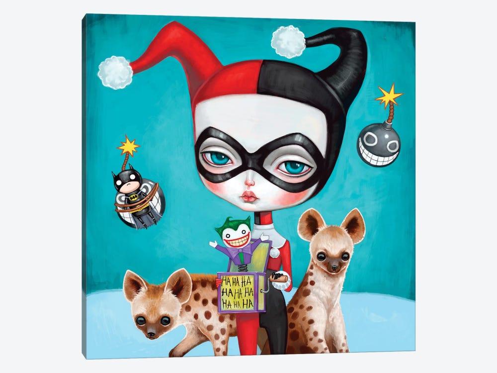 Harley Quinn by Melanie Schultz 1-piece Canvas Art