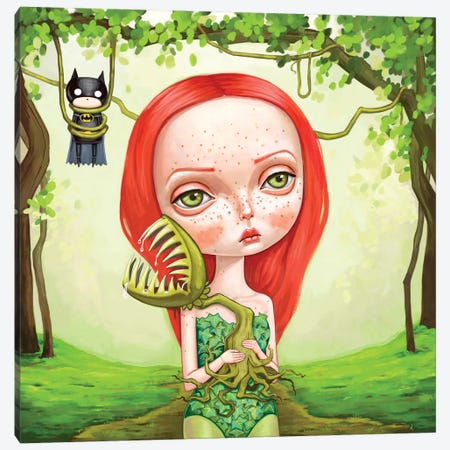 Poison Ivy Canvas Print #MSC22} by Melanie Schultz Canvas Artwork
