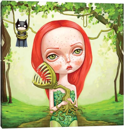 Poison Ivy Canvas Art Print