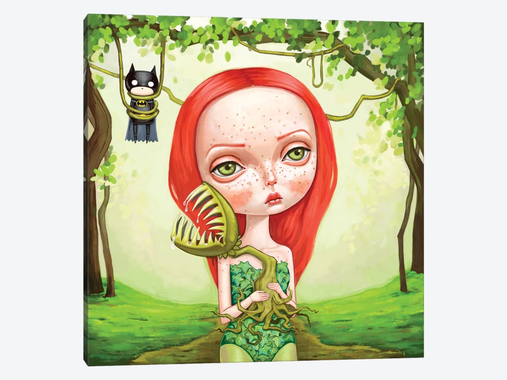 Poison Ivy by Melanie Schultz 1-piece Canvas Print