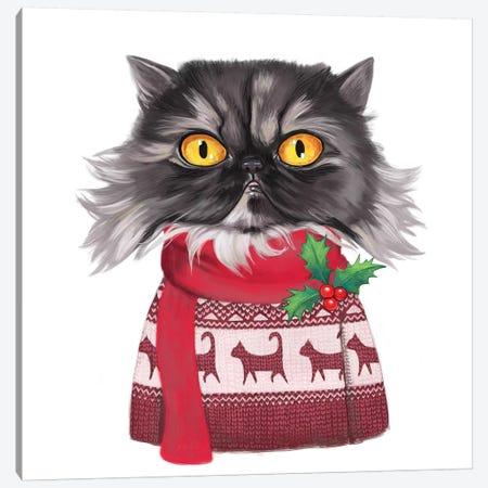 Gimli Christmas Canvas Print #MSC26} by Melanie Schultz Art Print