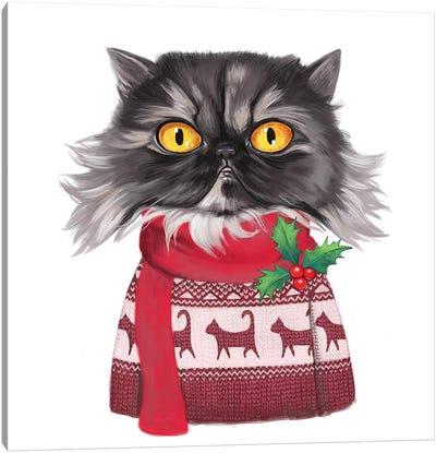 Gimli Christmas Canvas Art Print