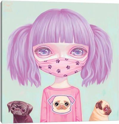 Pug Life Canvas Art Print