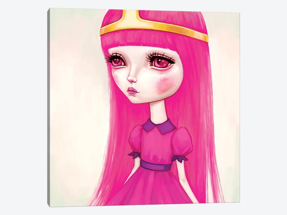 Adventure Time - Princess Bubblegum by Melanie Schultz 1-piece Canvas Artwork