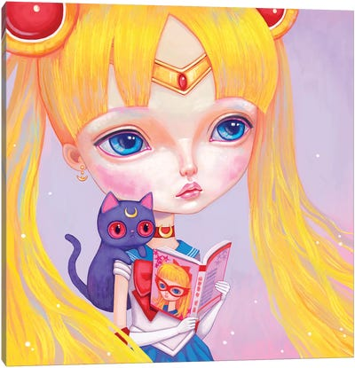 Sailor Moon Canvas Art Print