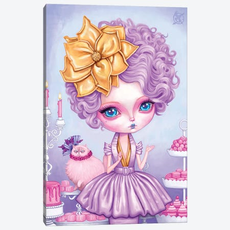 Effie Trinket Canvas Print #MSC33} by Melanie Schultz Canvas Art Print