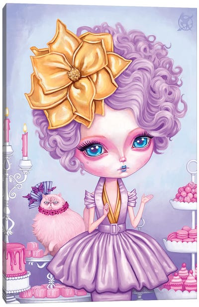 Effie Trinket Canvas Art Print