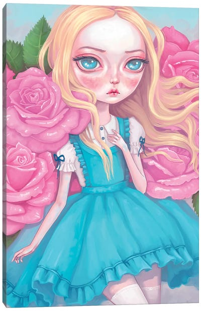 Alice In Wonderland Canvas Art Print
