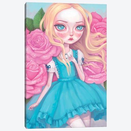 Alice In Wonderland Canvas Print #MSC36} by Melanie Schultz Canvas Wall Art