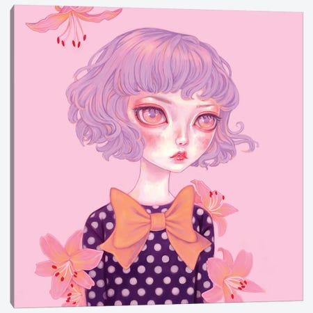 Lilac Hair Canvas Print #MSC38} by Melanie Schultz Canvas Print