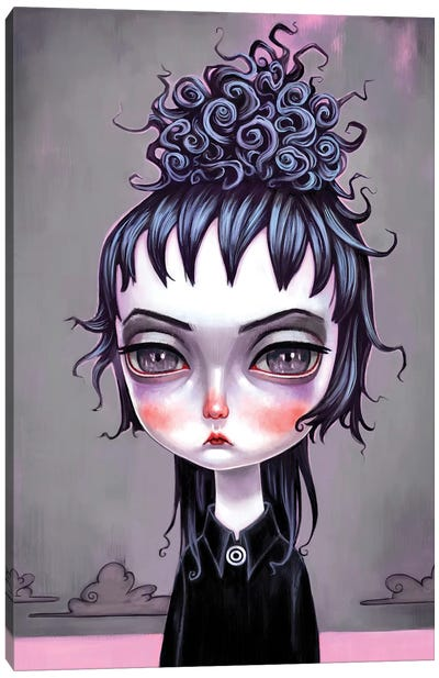 Lydia Deetz Canvas Art Print