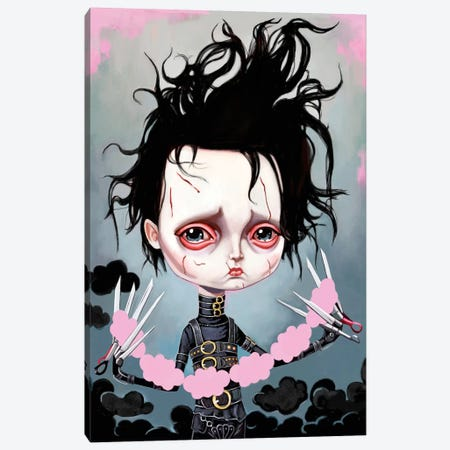 Edward Scissorhands Canvas Print #MSC5} by Melanie Schultz Canvas Art Print