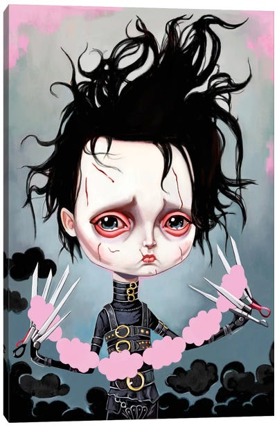 Edward Scissorhands Canvas Art Print