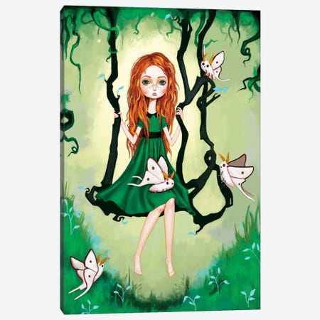 Forest Swing Canvas Print #MSC6} by Melanie Schultz Canvas Print