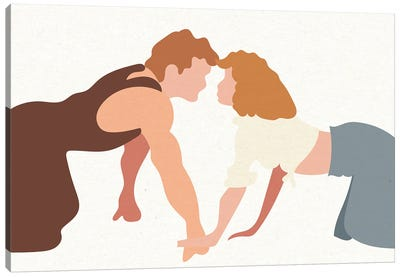 Dirty Dancing Landscape Canvas Art Print