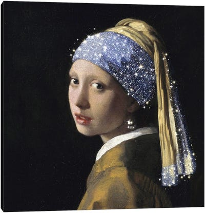 Girl With A Pearl Earring Canvas Art Print
