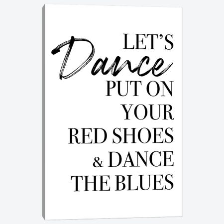 Let's Dance Canvas Print #MSD115} by Mambo Art Studio Canvas Print