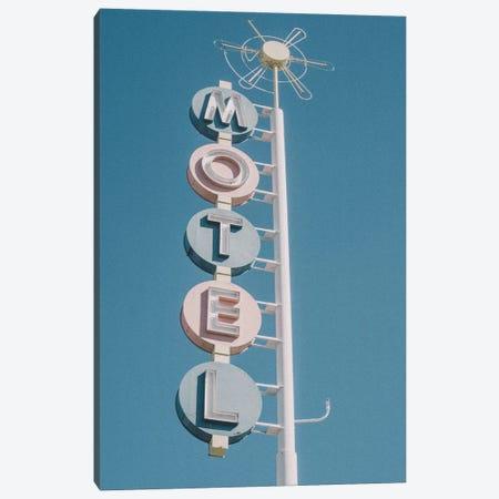 Motel Retro Sign Photo Canvas Print #MSD123} by Mambo Art Studio Canvas Print