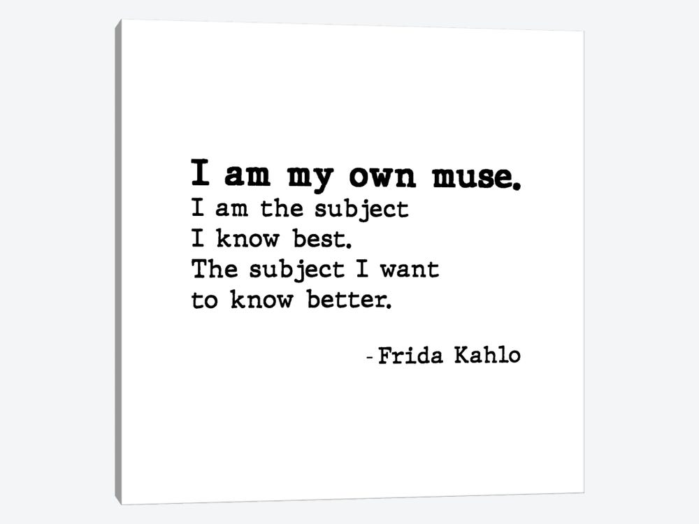 Muse By Frida Kahlo by Mambo Art Studio 1-piece Canvas Art Print