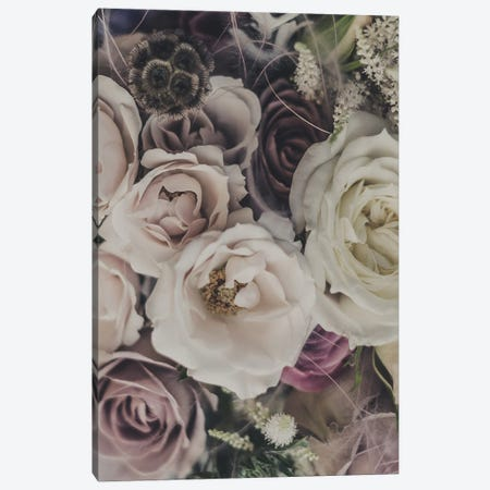 Roses and Dry Flowers Bouquet Canvas Print #MSD128} by Mambo Art Studio Art Print