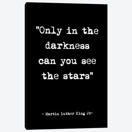 See the Stars Quote Canvas Print #MSD130} by Mambo Art Studio Canvas Art