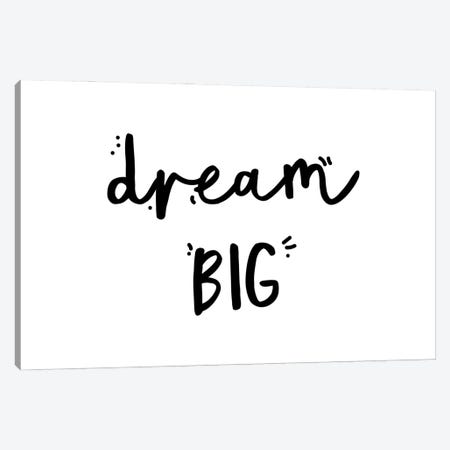 Dream Big Canvas Print #MSD16} by Mambo Art Studio Art Print