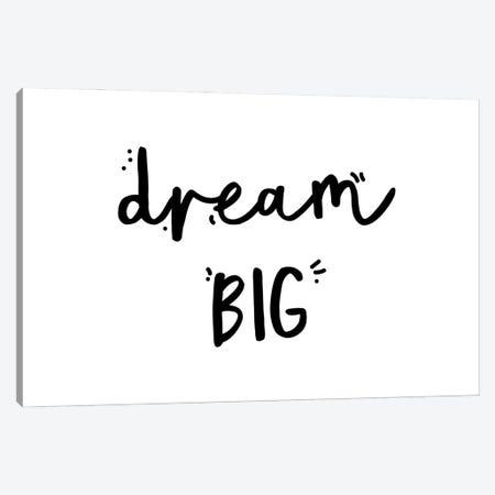 Dream Big Canvas Print #MSD16} by Mambo Art Studio Art Print
