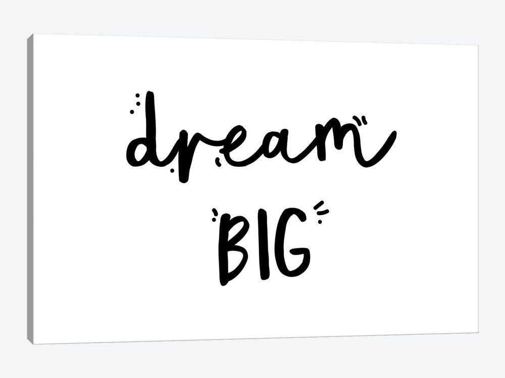 Dream Big by Mambo Art Studio 1-piece Canvas Art Print