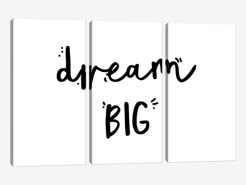 Dream Big by Mambo Art Studio 3-piece Canvas Print