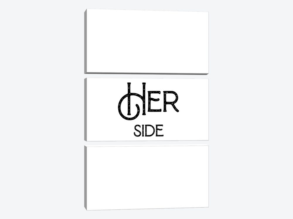 Her Side by Mambo Art Studio 3-piece Canvas Print