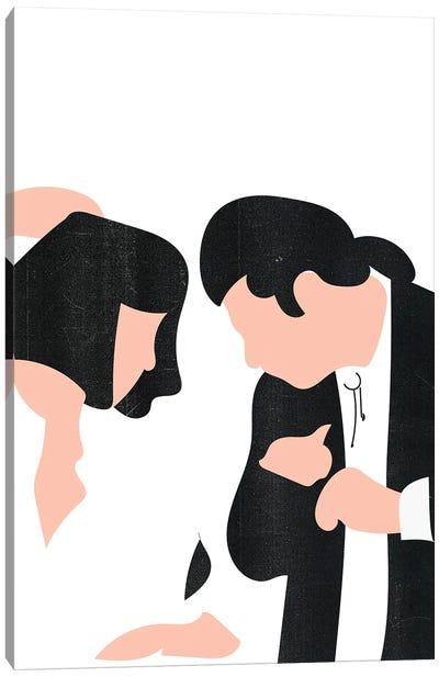 Pulp Fiction Dance Canvas Art Print