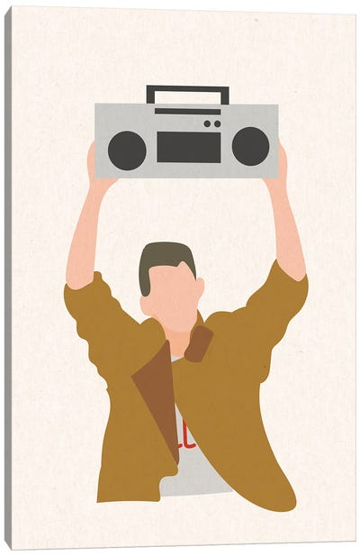 Say Anything Boombox Canvas Art Print