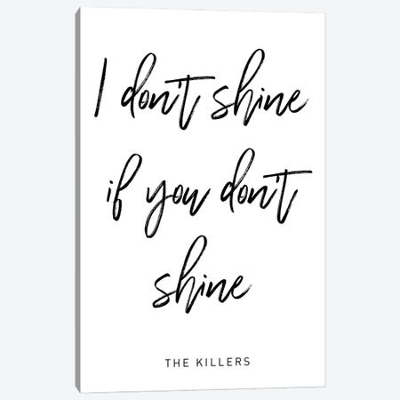 Shine Killers Canvas Print #MSD52} by Mambo Art Studio Canvas Wall Art